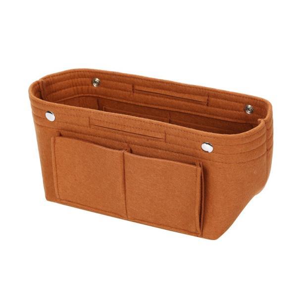 バッグインバッグ フェルト収納バッグ インナーバッグ 整理軽量|mujina|24