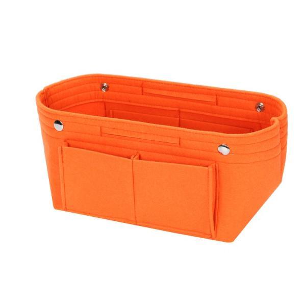 バッグインバッグ フェルト収納バッグ インナーバッグ 整理軽量|mujina|25