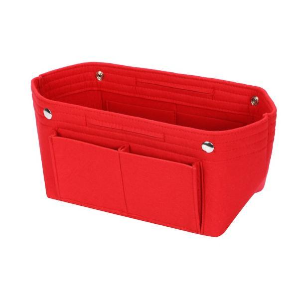 バッグインバッグ フェルト収納バッグ インナーバッグ 整理軽量|mujina|26