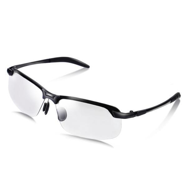 サングラス メンズ 偏光 調光 偏光サングラス UVカット おしゃれ ドライブ スポーツ ゴルフ 紫外線カット 釣り 運転 送料無料|mujina|20