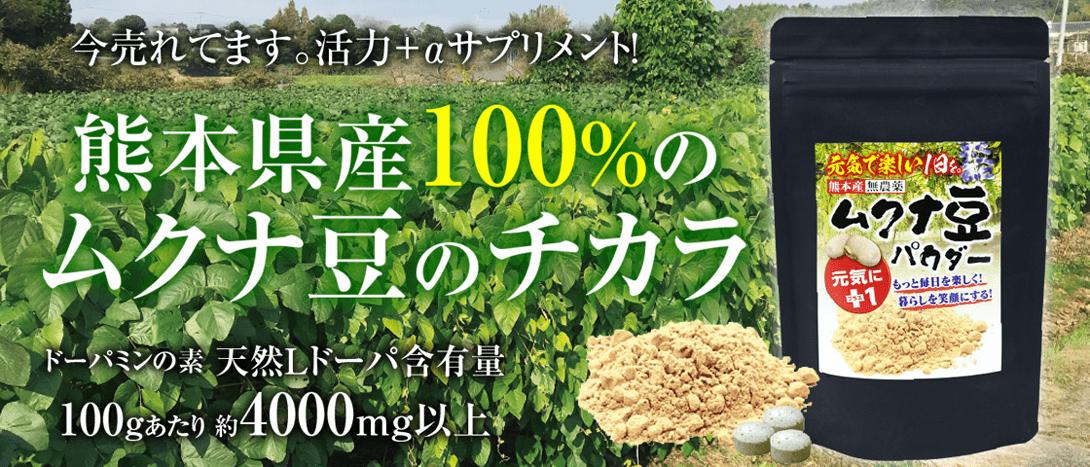 ムクナ豆パウダー