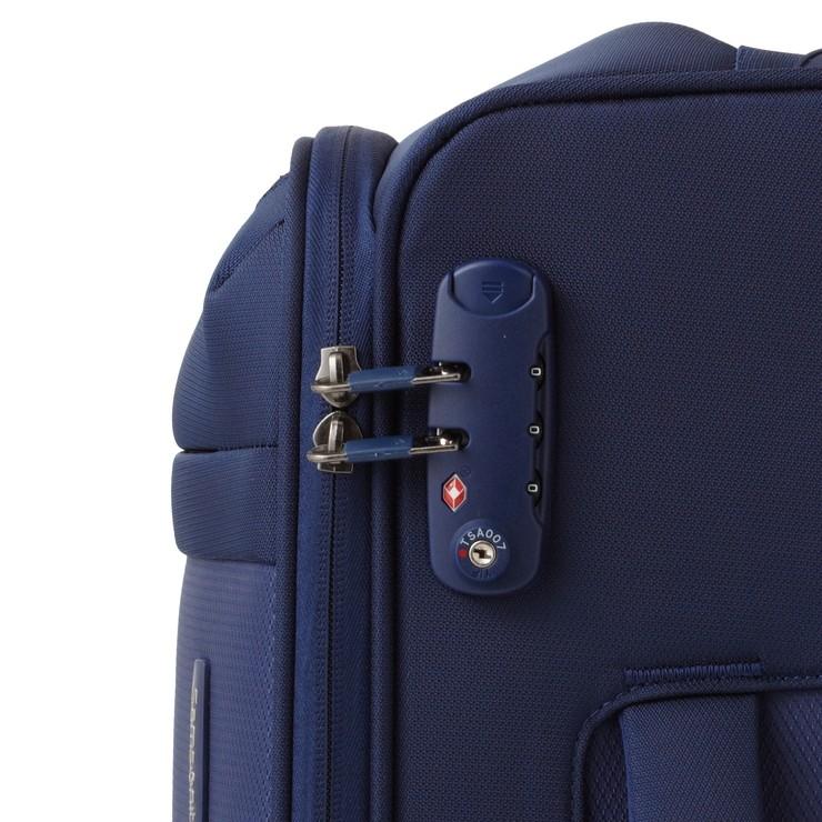 荷物が増えても、容量アップ機能で帰りも安心。