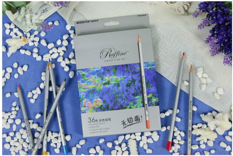 色鉛筆 36色 大人の塗り絵 塗り絵 コロリアージュ ひみつの花園 カラー