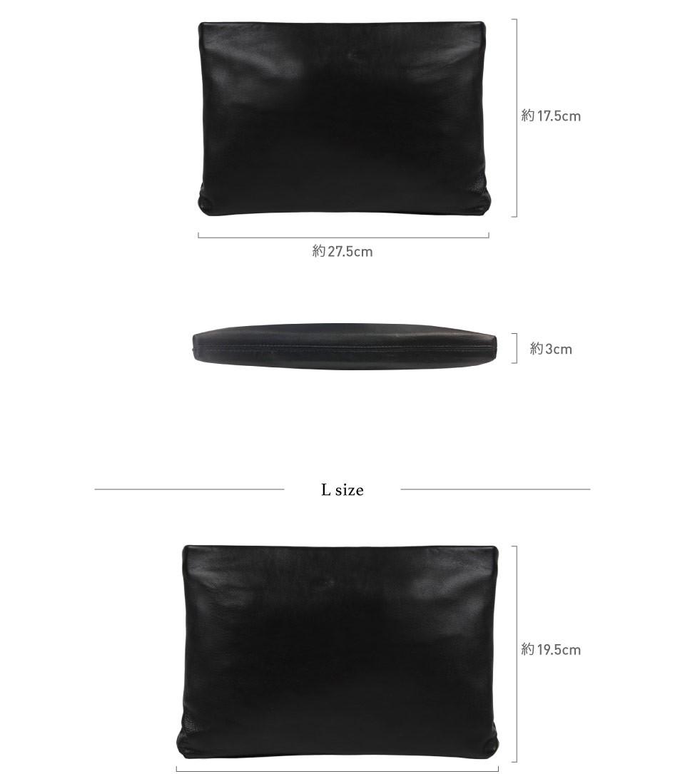 クラッチバッグ メンズ 小さめ 本革 レザー  ビジネス 結婚式 ブラック