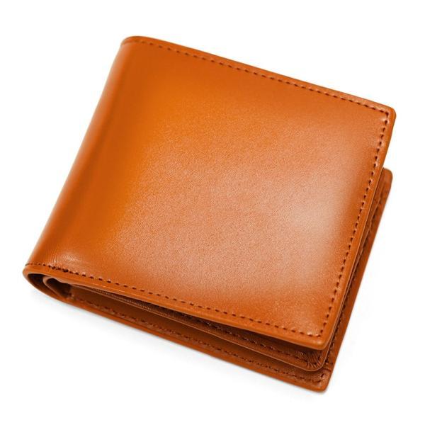 財布 メンズ 二つ折り 本革 薄い ボックス型 小銭入れ ブランド 二つ折り財布|mura|22