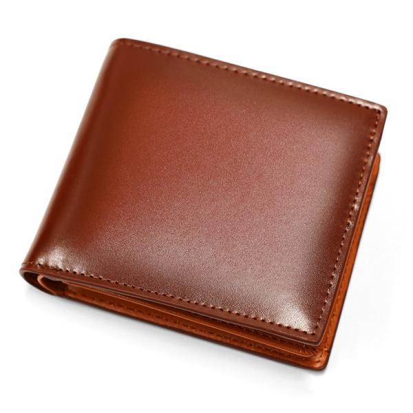 財布 メンズ 二つ折り 本革 薄い ボックス型 小銭入れ ブランド 二つ折り財布|mura|23