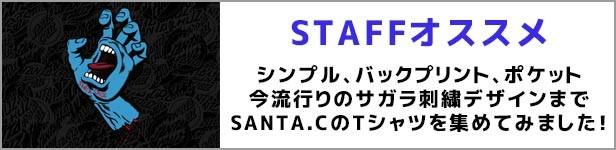 メンズ半袖Tシャツ SANTA.C サンタクルーズ