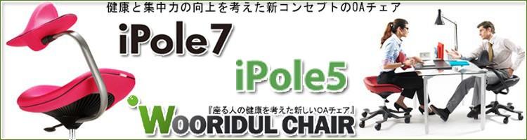 【開梱設置サービス付】iPole7・iPole5 ウリドゥルチェア【正規販売店】