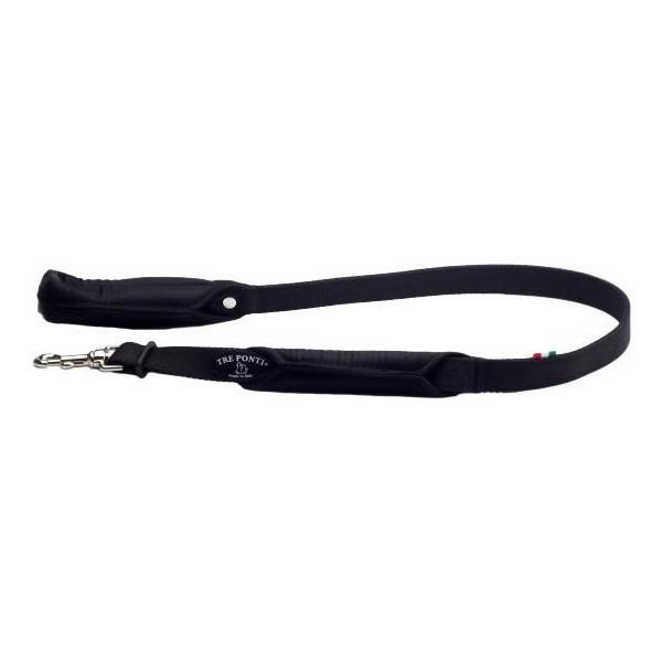 犬 リード 中型犬・大型犬用 トレ・ポンティ Double Safety Handle Leash 100cm|murol|06