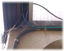 クモの巣消滅ジェット 施工