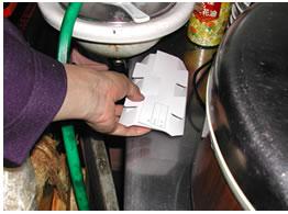 調査トラップ ゴキブリトラップ設置