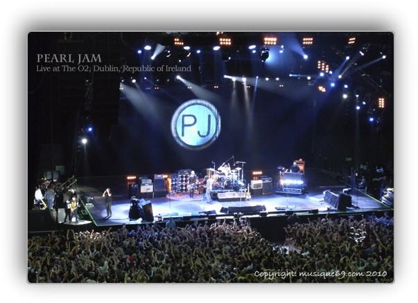 Pearl Jam European Tour 2010 at Dublin The O2