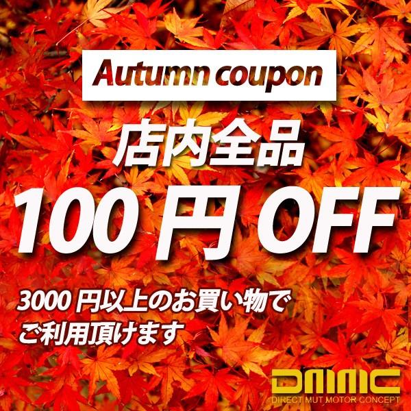 オータム100円OFFクーポン
