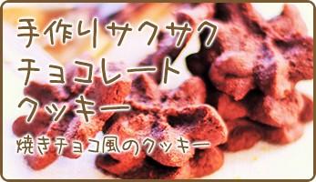 手作りサクサクチョコレートクッキー