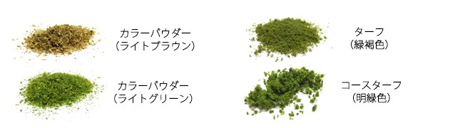 緑化に使用した材料