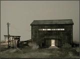模型作品「木造倉庫」