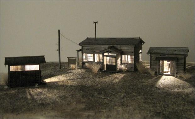 造形模型作品「文明の砦1」