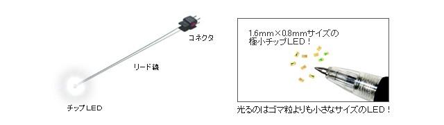 模型・プラモデル・ホビー向けLED!