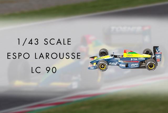 1/43 Scale Espo Larousse LC 90