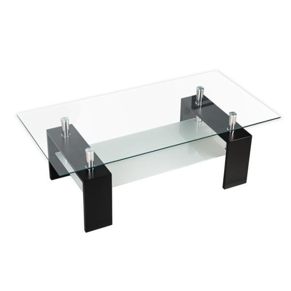 テーブル センターテーブル ガラス ガラステーブル リビングテーブル ローテーブル ガラス 北欧 送料無料|myhome-jp|07