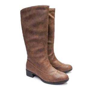 防水ブーツ レディース ロング ビュース BT269 消臭・抗菌 ブーツイン 防寒 雪国 黒 ブラック ブラウン