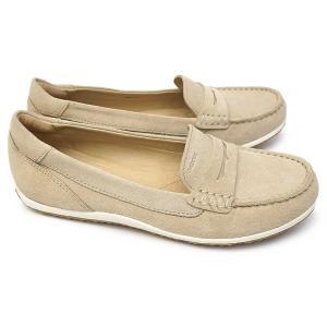 ジェオックス 靴 レディース ローファー モカシン D92DNA スリッポン レザー フラットシューズ ローヒール 蒸れない|マイスキップ