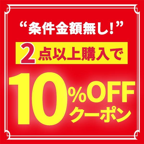 【2点以上購入で】条件金額なし!10%OFFクーポン!