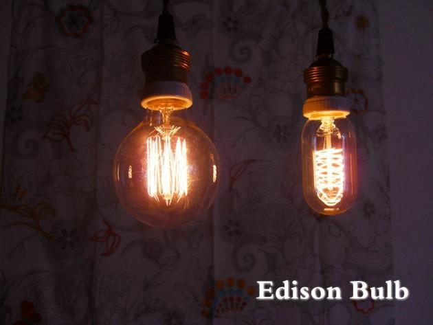 エジソン 電球 e26 カーボン 電球