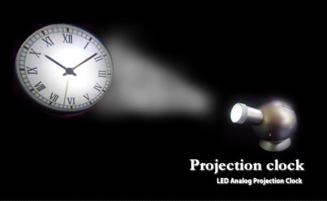 LED投影 プロジェクター 時計