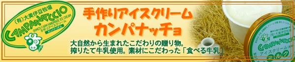 手作りアイスクリーム カンパナッチョ(大美伊豆牧場)