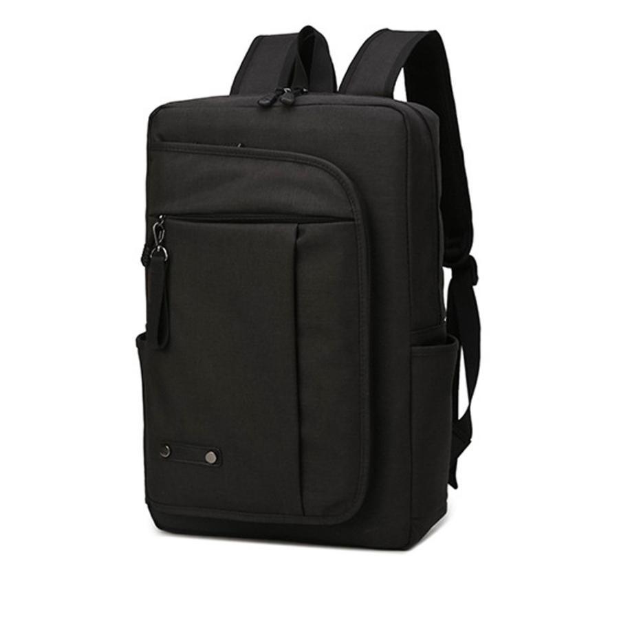 リュック メンズ リュックサック 学生 大容量 おしゃれ 通学 黒 シンプル バックパック 軽量 撥水 自転車 人気 パソコン PC VORQIT|nact|10