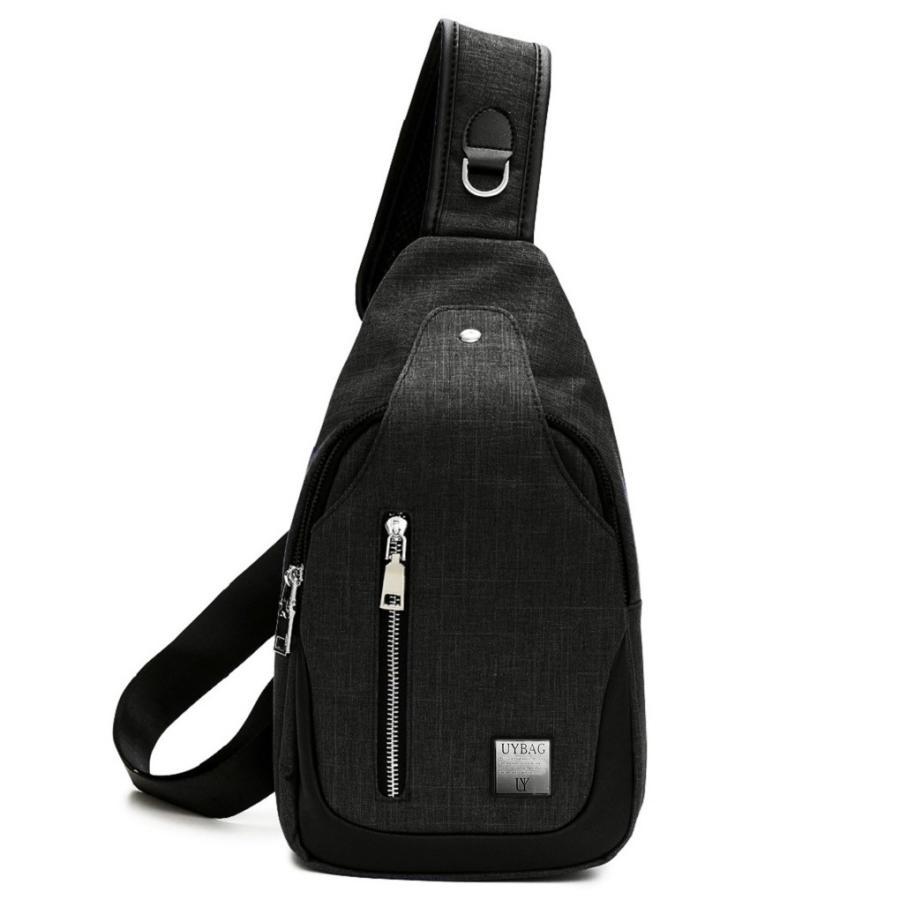 ボディバッグ メンズ USB充電ポート 付き ボディーバッグ uybag04|nact|07