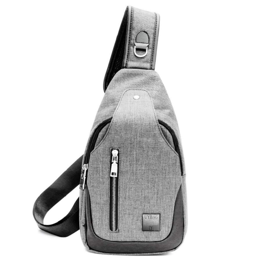 ボディバッグ メンズ USB充電ポート 付き ボディーバッグ uybag04|nact|08