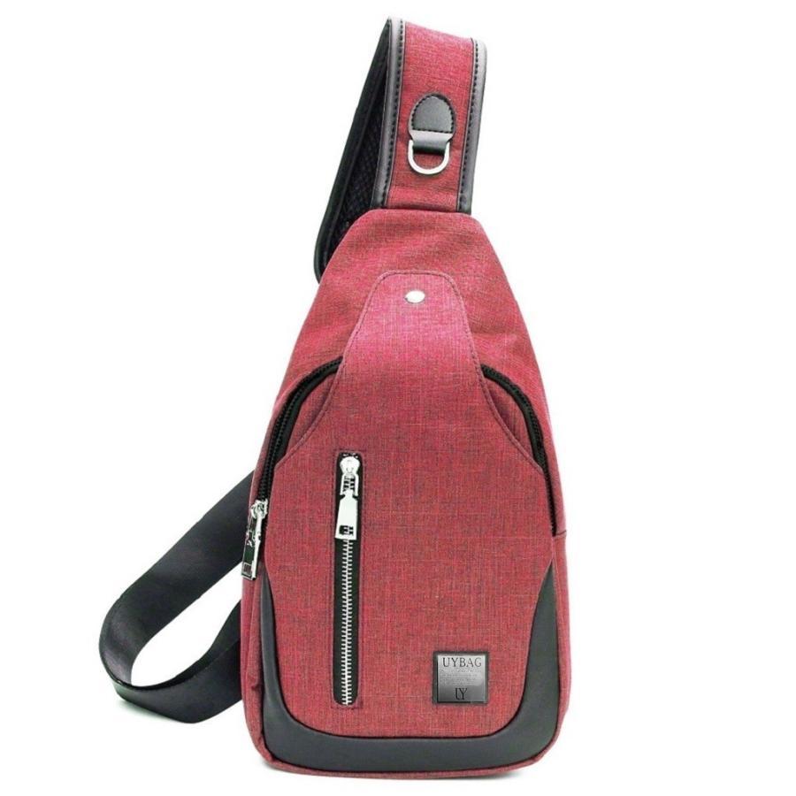 ボディバッグ メンズ USB充電ポート 付き ボディーバッグ uybag04|nact|09