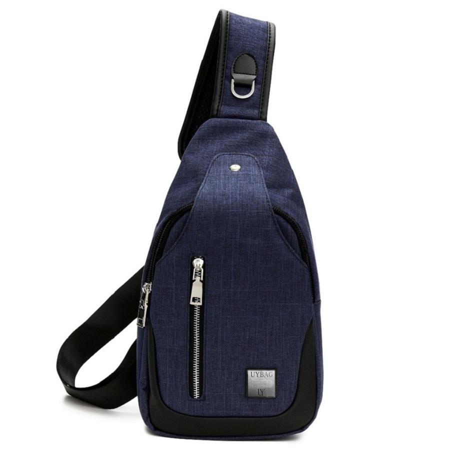 ボディバッグ メンズ USB充電ポート 付き ボディーバッグ uybag04|nact|10