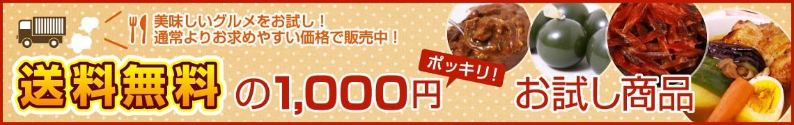1000円お試し