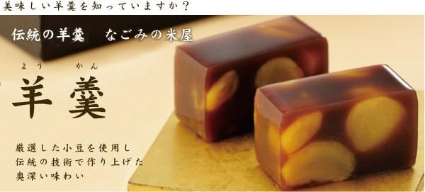 千葉県成田市 創業111年和菓子屋 極上大棹羊羹