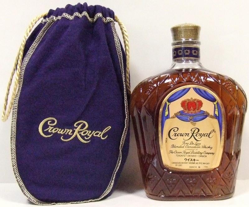クラウン ローヤル 40度 カナディアンウイスキー
