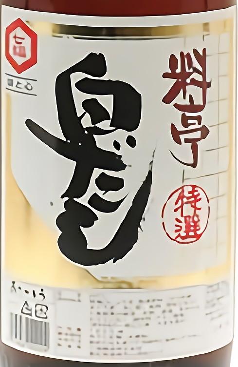 七福醸造 特選 料亭白だし 1.8L びん
