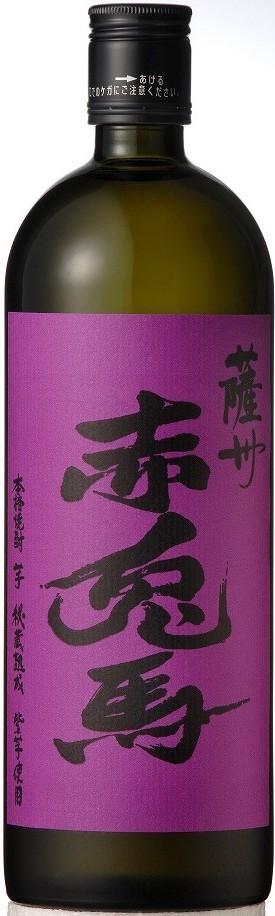 鹿児島県 濱田酒造 芋焼酎 薩洲 紫の赤兎馬 720ml