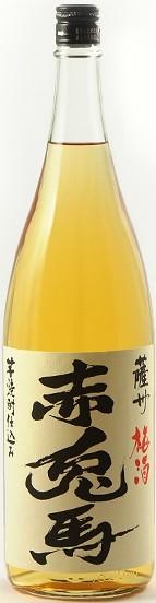 鹿児島県 濱田酒造 赤兎馬 梅酒 14度 1800ml