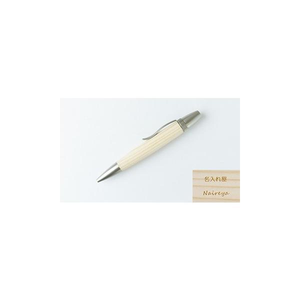 名入れ無料 日本製 ハンドメイド 木製 国産縁起木 油性 ボールペン 黒 0.7 パーカータイプ高級 かっこいい おしゃれ  プレゼント naire-ya 18