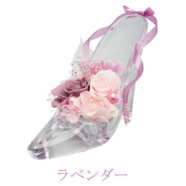 ガラスの靴 シンデレラの靴 プリザーブドフラワー 名入れ 彫刻 プロポーズ 結婚 誕生日 母の日 プレゼント お祝い|naireikkabo|09