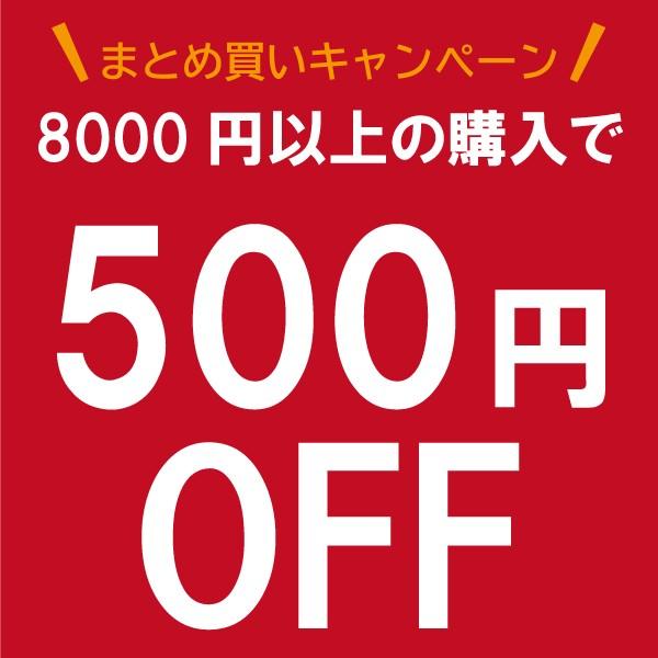8000円以上のお買い物で使える500円OFFクーポン