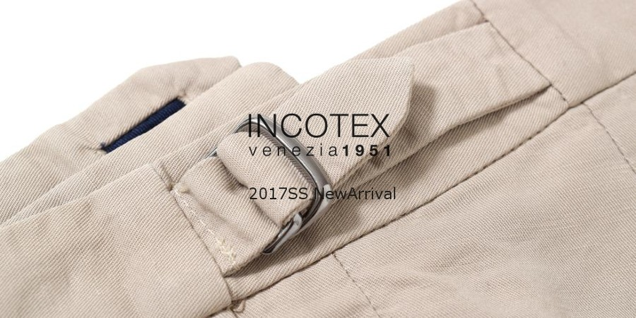 INCOTEX新入荷