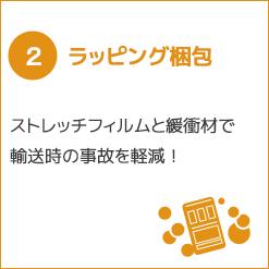 2, ラッピング梱包