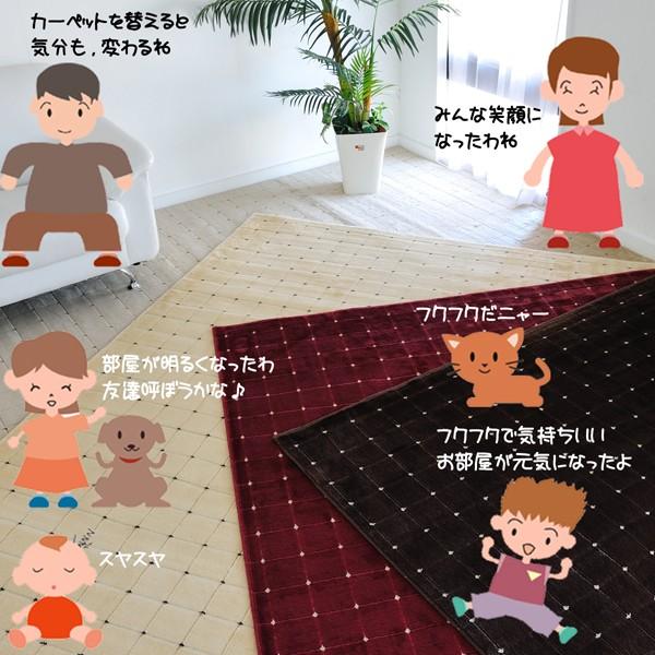 家族みんーな嬉しくなるおススメのカーペットです