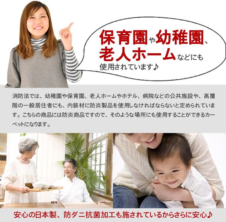 保育園や幼稚園、老人ホームなどにも使用されています。