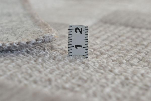 床にやさしい不織布貼りです