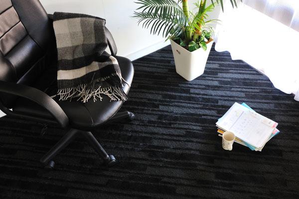 シックでモダンなデザインで会社や事務所にも敷け、高級感ある空間に仕上げてくれます